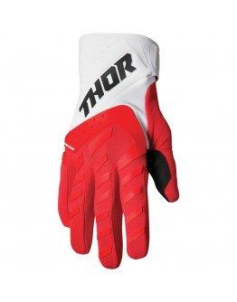 Rukavice Thor Spectrum red/white 2022 detské