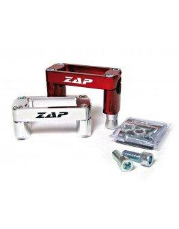 Držiaky riadidiel Zap Technix Suzuki RMZ 28,6mm červené