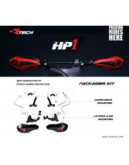 Chrániče rúk páčok HP1 čierne