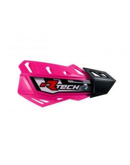 Kryty páčok R-tech FLX+montážny kit PINK