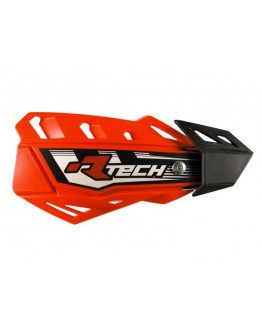 Kryty páčok R-tech FLX+montážny kit NEON ORANGE