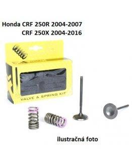 Ventily sacie oceľové Honda CRF 250R 2004-2007,CRF 250X 2004-2016