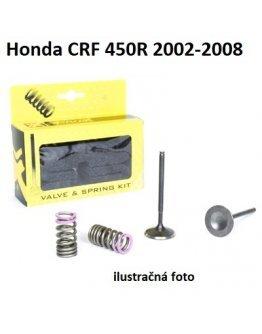 Ventily sacie oceľové Honda CRF 450R 2002-2008