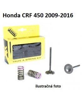 Ventily sacie oceľové Honda CRF 450R 2009-2016