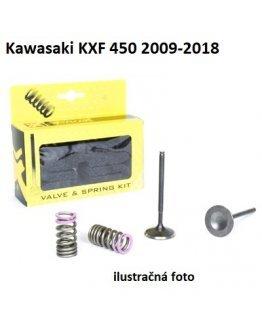 Ventily sacie oceľové Kawasaki KXF 450 2009-2018