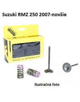 Ventily sacie oceľové Suzuki RMZ 250 2007-2021