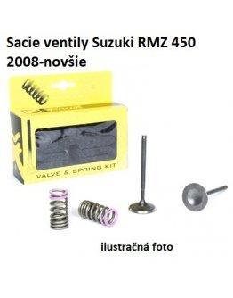 Ventily sacie oceľové Suzuki RMZ 450 2008-2021
