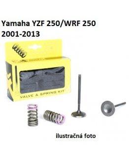 Ventily výfukové oceľové Yamaha YZF/WRF 250 2001-2013