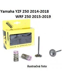 Ventily sacie oceľové Yamaha YZF 250 2014-2018,WRF 250 2015-2019