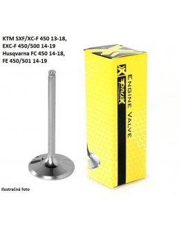 Ventil sací TITÁN KTM SXF/XC-F 450 13-18,EXC-F 450/500 14-19,Husqvarna FC 450 14-18,FE 450/501 14-19