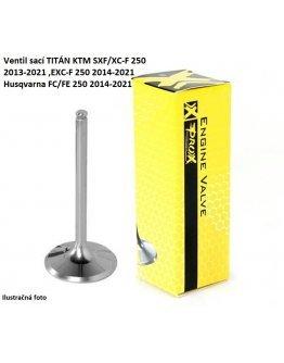 Ventil sací TITÁN KTM SXF/XC-F 250 2013-2021 ,EXC-F 250 2014-2021,Husqvarna FC/FE 250 2014-2021