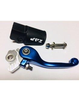 Brzdová páčka výklopná modrá ZAP RM/RMZ, KX/KXF, YZ/YZF