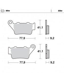 Brzdové platničky Moto-Master Nitro / KTM,Husqvarna,Husaberg,TM zadné