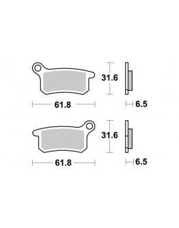 Brzdové platničky KYOTO KTM SX 65/85