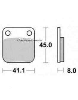 Brzdové platničky Kyoto KX 65/80/85 zadné