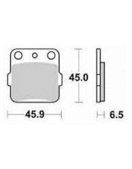 Brzdové platničky Kyoto YZ/CR 80/85 predné