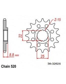Vývodové sekundárne koliečko KTM/HSB/HSQ/BETA 1248