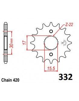Vývodové sekundárne koliečko CR80/85 e332