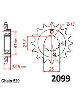 Vývodové sekundárne koliečko XR650 e2099