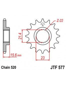 Vývodové sekundárne koliečko TT600/XT600 JTF577