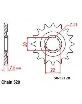 Vývodové sekundárne koliečko ESJOT CR125/CRF250