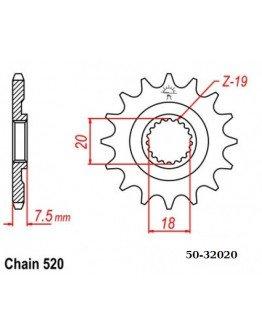 Vývodové sekundárne koliečko ESJOT CR 125 87-03