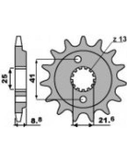 Vývodové sekundárne koliečko Honda XR600/650,TRX400