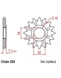 Vývodové sekundárne koliečko ESJOT RM125/RMZ250