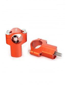Držiaky riadidiel KTM 52mm oranžové