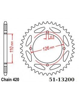 Rozeta duralová ESJOT KX65/RM65