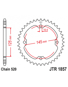 Rozeta JT Yamaha RAPTOR YFM/YFZ