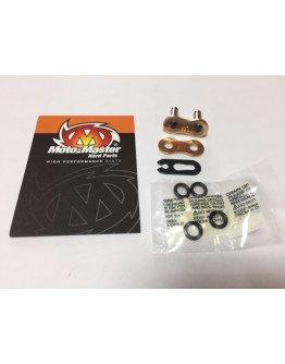 Spojka reťaze Moto-master V4 O-ring 520 gold press