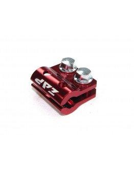 Držiak (svorka) brzdovej hadice Zap Technix KX/KXF/RM/RMZ červený