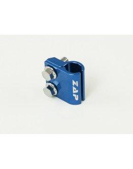Držiak(svorka) brzdovej hadice Zap Technix CR(F),YZ(F) 05-modrý