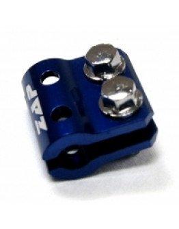 Držiak (svorka) brzdovej hadice Zap Technix KX/KXF/RM/RMZ modrý