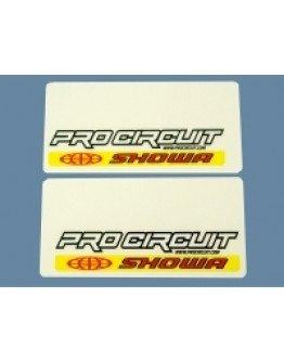 Nálepky na predné tlmiče Pro Circuit Showa