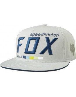 Šiltovka Fox Draftr Snapback Grey OS