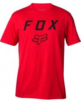 Pánske tričko Fox Legacy Moth Ss dark red