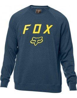 Pánska mikina Fox Legacy Crew navy