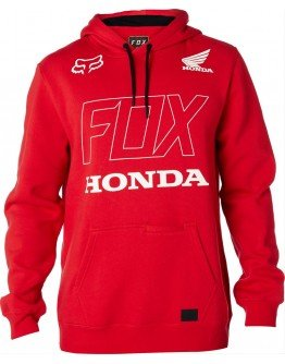 Pánska mikina Fox Honda Hoody dark red