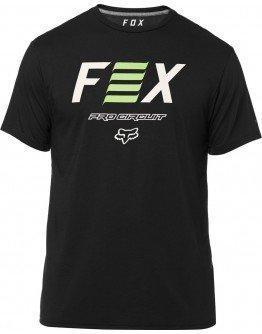Pánske tričko Fox Pro Circuit Ss Tech black