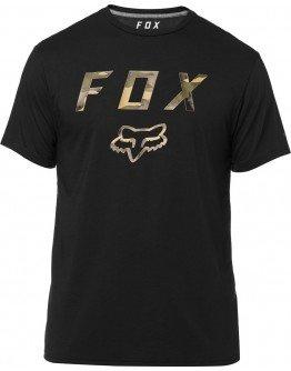 Pánske tričko Fox Cyanide Squad Ss Tech black