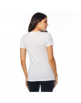 Dámske tričko Fox Drips Ss Crew white