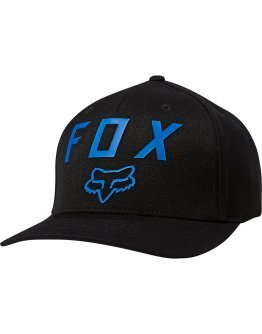 Šiltovka Fox Number 2 Flexfit Hat black/blue