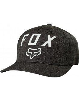 Šiltovka Fox Number 2 Flexfit Heather graphite