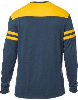 Pánske tričko Fox Race Team Ls Airline navy