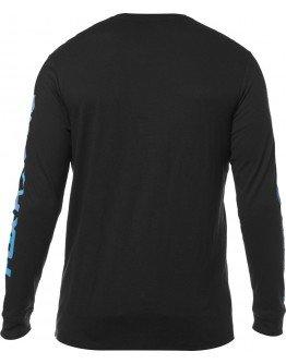 Pánske tričko Fox Jetskee Ls Knit black
