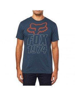 Pánske tričko FOX Blasted SS Premium navy