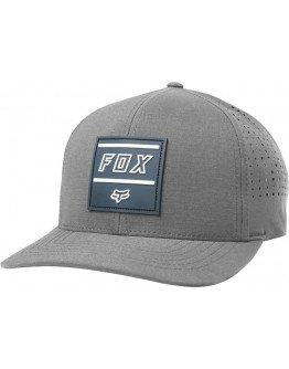 Šiltovka Fox Midway Flexfit dark grey