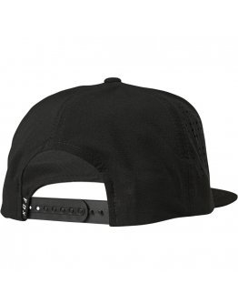 Šiltovka Fox Crest Snapback black